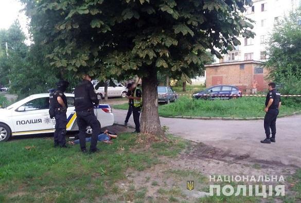 У Черкасах вранці сталася стрілянина (ФОТО, ВІДЕО)