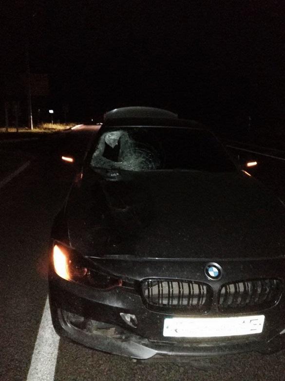 На Черкащині автомобіліст збив чоловіка насмерть (ВІДЕО)