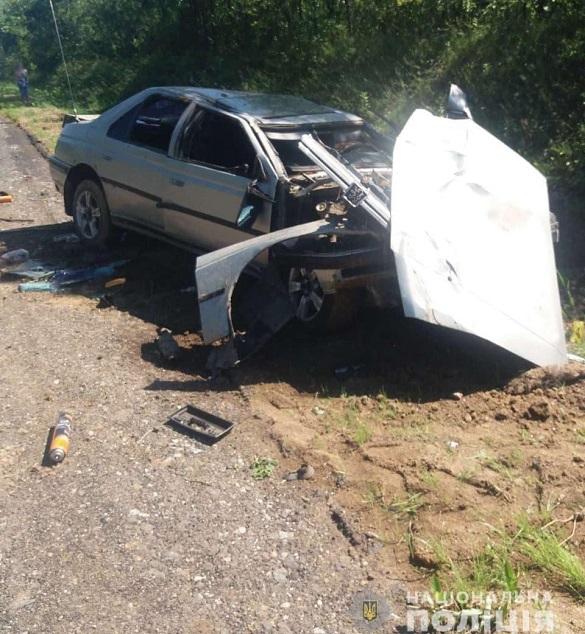 У Черкаській області затримали чоловіка, який викрав авто та скоїв аварію