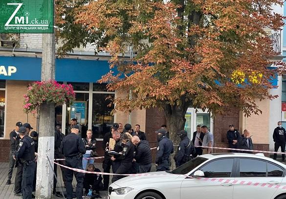 У поліції повідомили офіційну позицію, чому Хрещатик у Черкасах на декілька годин заполонили правоохоронці