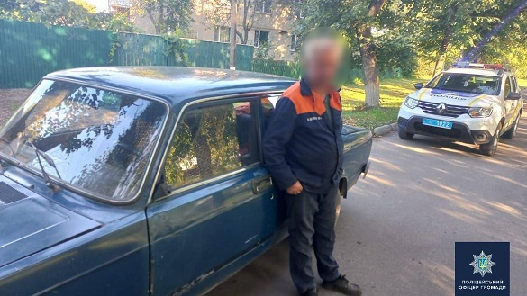 На Черкащині виявили водія напідпитку (ФОТО)