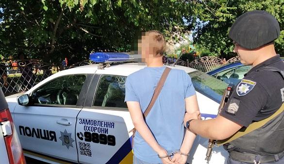 Напав та відібрав велосипед: завдяки перехожому в Черкасах затримали грабіжника (ФОТО)