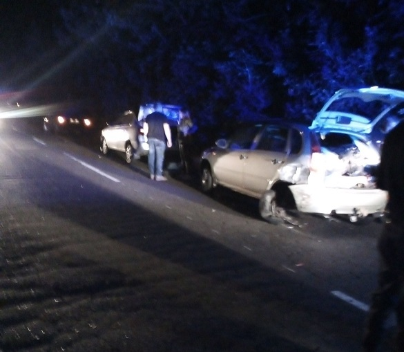 На Черкащині зіштовхнулись дві автівки: постраждала мама з дитиною (ФОТО)
