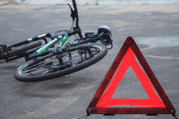 У Черкасах сталася аварія: постраждав велосипедист