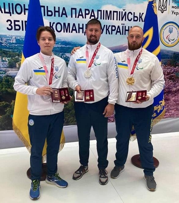 Черкаські паралімпійці, які вибороли медалі в Токіо, отримали ордени