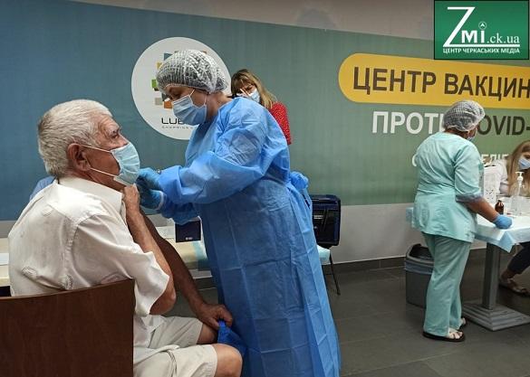 Понад 185 тисяч черкащан завершили вакцинацію від коронавірусу