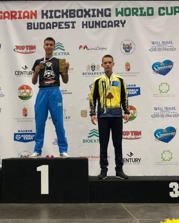 Черкащанин став бронзовим призером Кубка Світу із кікбоксингу
