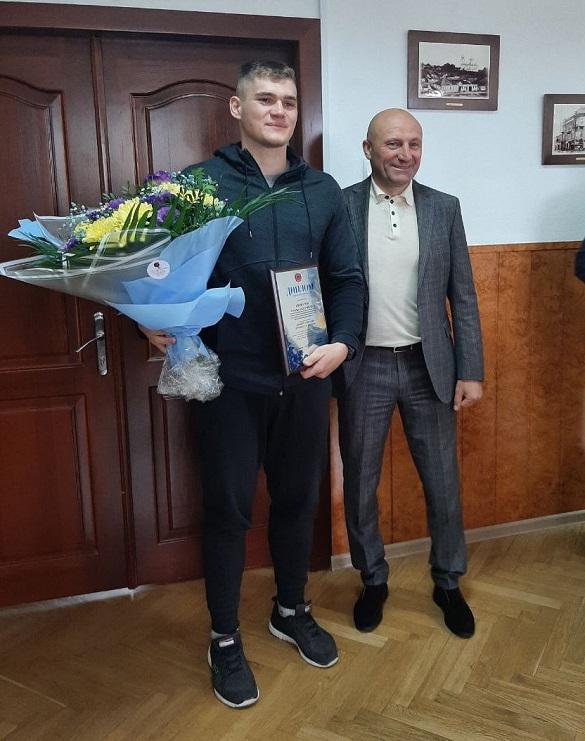 Інтерконтинентальний чемпіон світу з кікбоксингу став кращим спортсменом року в Черкасах