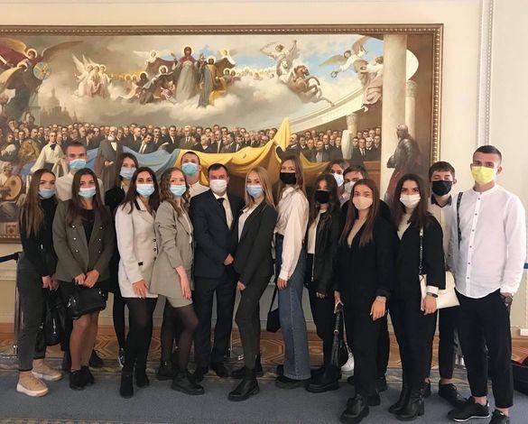 Черкаські студенти відвідали Верховну Раду України