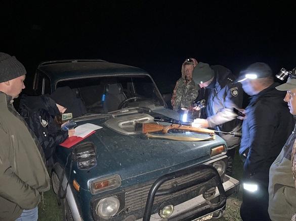 У Черкаській області затримали браконьєра, який застрелив  самку оленя (ФОТО)