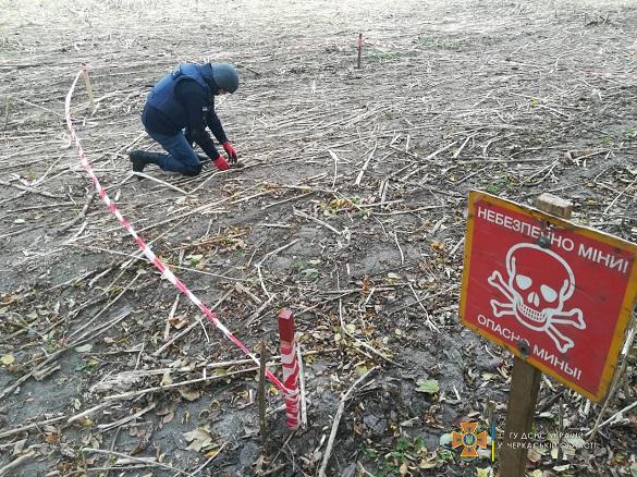 На Черкащині рятувальники знищили гранату часів минулих війн