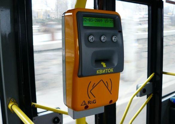 У тролейбусах Черкас встановлять валідатори для продажу та реєстрації електронного квитка