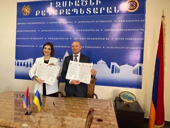 Мер Черкас поїхав у Вірменію (ФОТО)