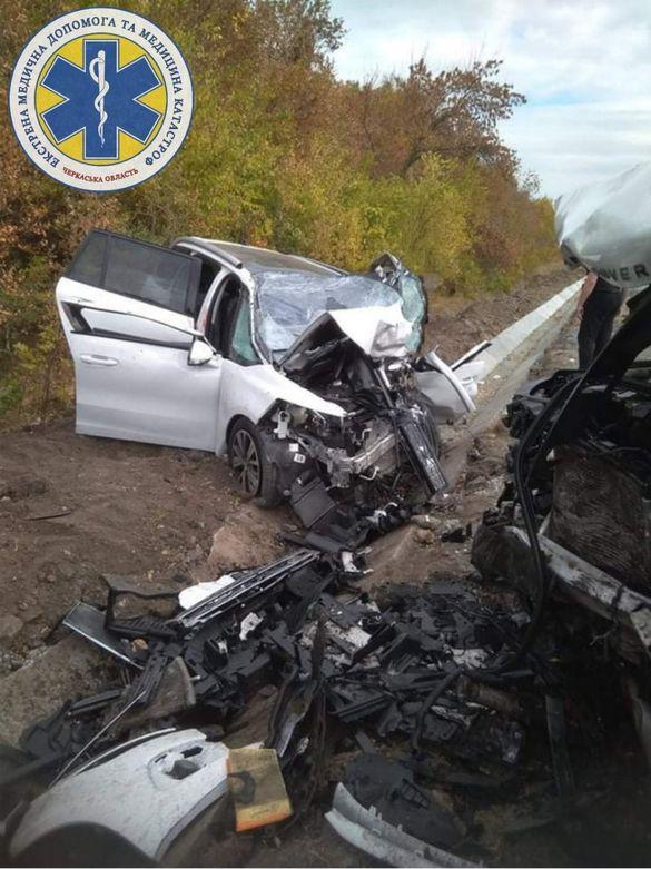 Вщент потрощені автомобілі: на Звенигородщині у ДТП загинули дві жінки, ще троє травмованих (ФОТО)