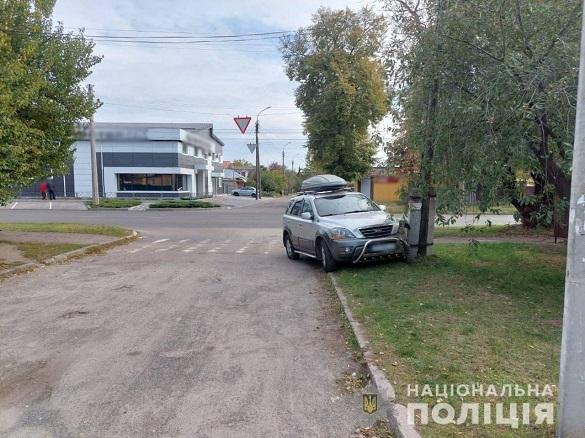 У Черкасах водійка виїхала на тротуар та збила жінку