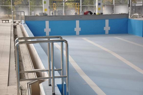 У золотоніській гімназії триває #ВеликеБудівництво басейну