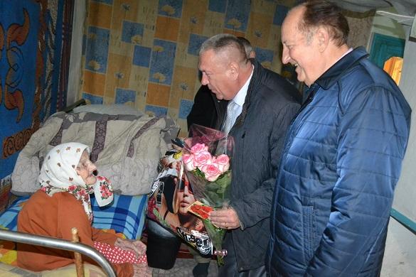Найстарша жителька однієї з громад на Черкащині відсвяткувала 105-річчя