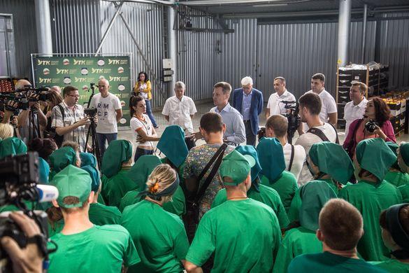 З робочим візитом до Умані завітав Валентин Наливайченко