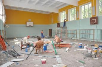 Cпортзал черкаської школи не можуть відремонтувати 5 років