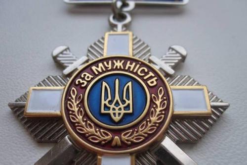 Президент нагородив орденом «За мужність» Володимира Ложешнікова