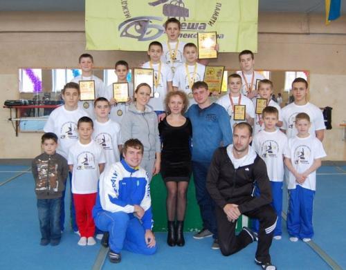 Черкаські гімнасти із золотими нагородами