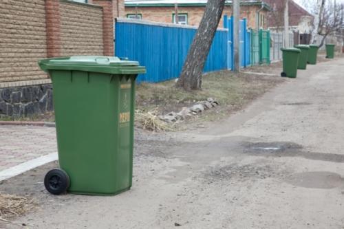 У Черкасах вже крадуть сміттєві баки