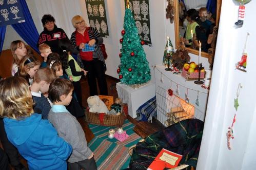 У Черкаському обласному музею з'явилася приймальня Діда Мороза