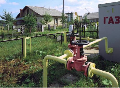 У черкаському селі нарешті з'явилася перша  газифікована хата