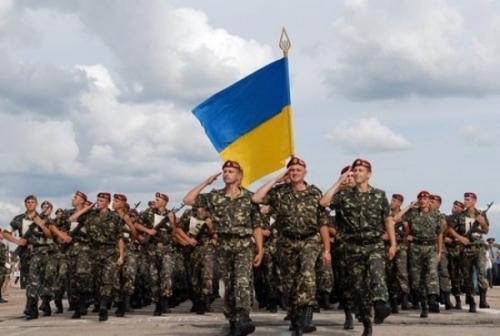 Як святкували День української армії на передовій