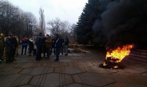 Сили Майдану задиміли суд
