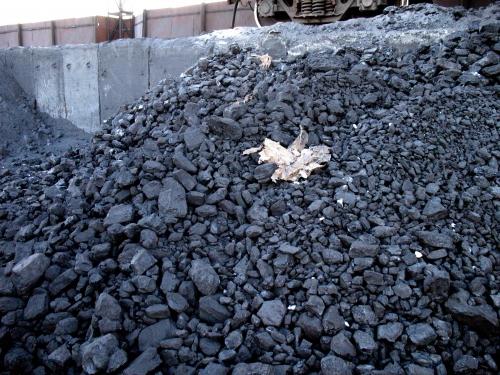 Запаси вугілля в Україні скоротилися на 15,1%