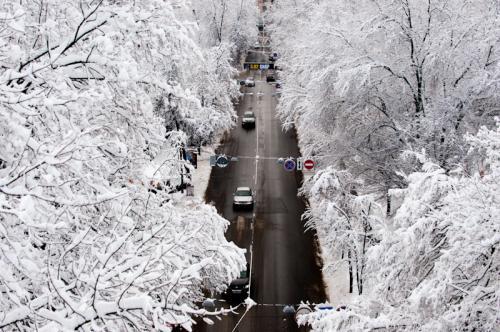 У Новорічну ніч на Черкащині буде мороз і сніг