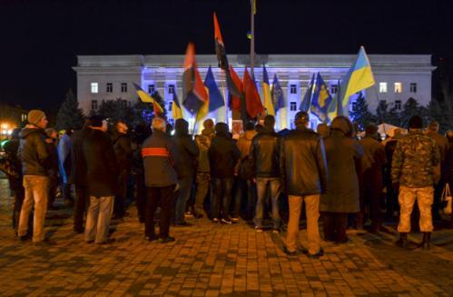 Черкащани мітингували під Верховною Радою через соціальні виплати