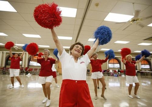 Черкаських пенсіонерів запрошують бути активними, спортивними і позитивними
