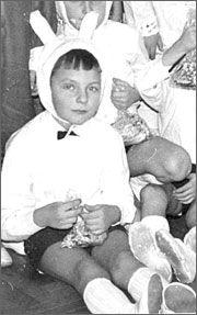 На Новий рік мер Черкас Одарич був зайчиком (ФОТО)