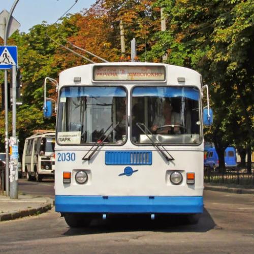 В соцмережі показали життя черкаського тролейбуса (ВІДЕО)