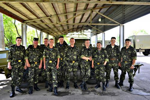 Колишнім солдатам батальйону
