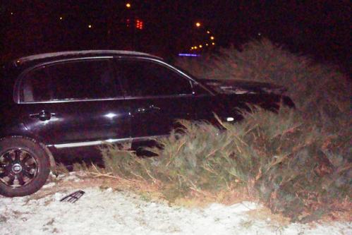 В пам'ятник Небесній Сотні врізався п'яний водій (ФОТО)