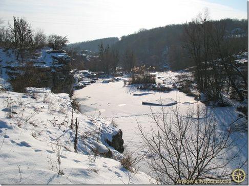 Як виглядає Буцький каньйон зимою (ФОТО)