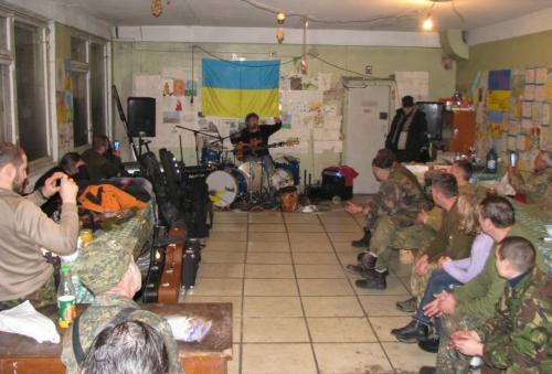 Універсал із АТО влаштував рок-концерт(ФОТО)