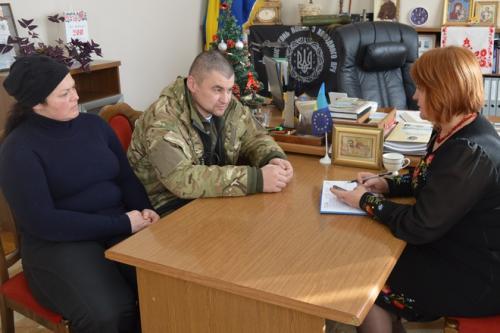 Депутат Черкаської облради воює в зоні АТО