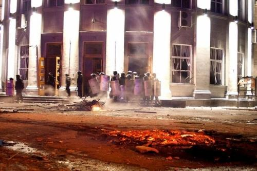 Прокуратура визначила, хто винен у розгоні Євромайдану у Черкасах