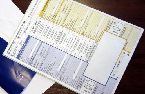 Черкаські ДАІшники рекомендують учасникам ДТП складати європротоколи