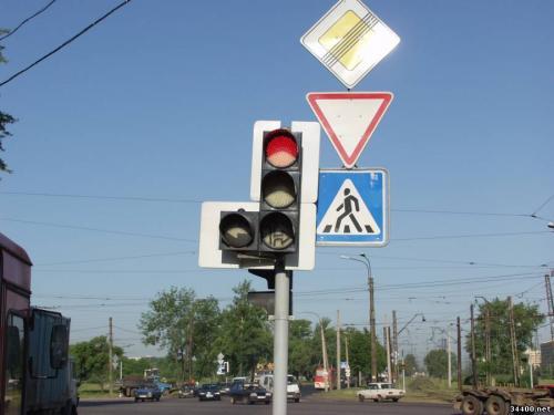 У Городищі більше не працюють світлофори
