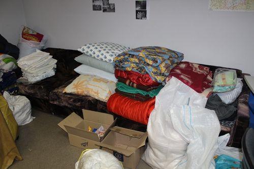 У зону АТО повезуть ковдри, подушки і матраци черкащан (фото)