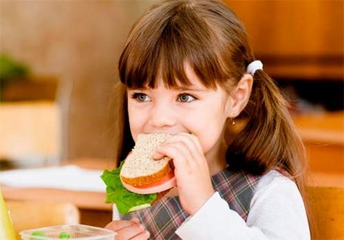 Обід школярів-