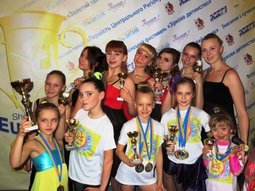 Черкаські танцюристи вибороли понад півсотні нагород