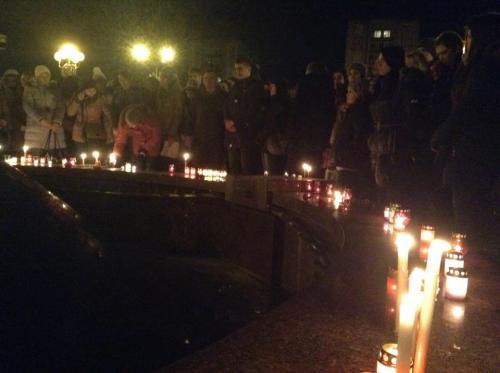 У Черкасах вшанували пам'ять Кузьми Скрябіна