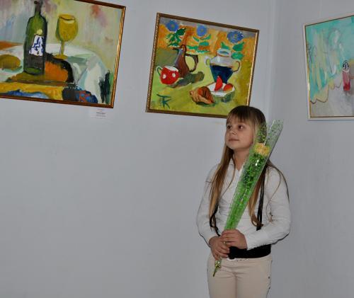 Cемирічна художниця та її