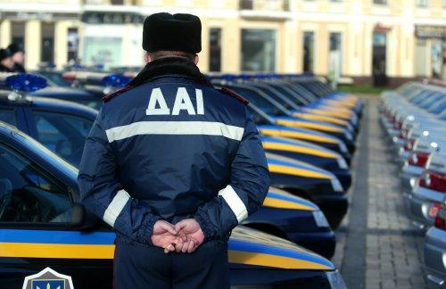 Уманські даішники затримали авто, яке шукають в Києві
